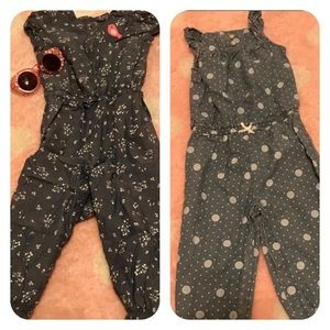 Set of 2 Rompers